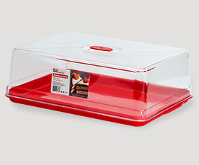Rectangular cake box